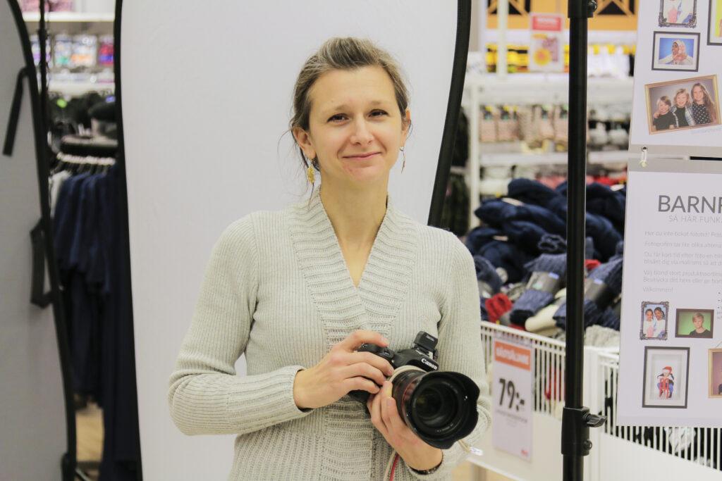 Bild på fotograf